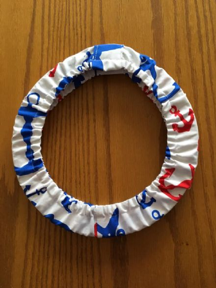 "Grime Guard for 9"" Hoop, Red and Blue Anchors"